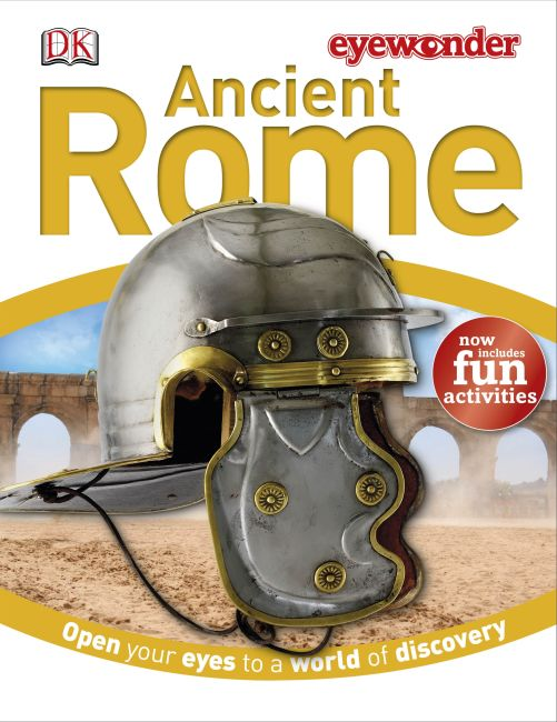 Hardback cover of Eye Wonder: Ancient Rome