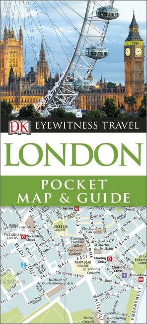 Paperback cover of London Pocket Map and Guide