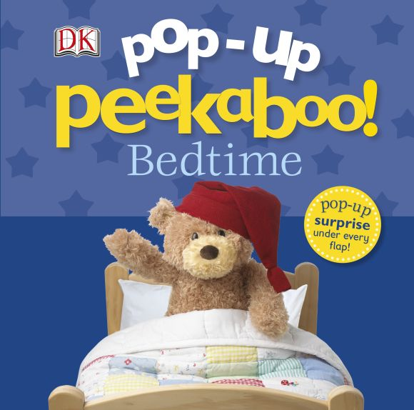 Board book cover of Pop-Up Peekaboo! Bedtime