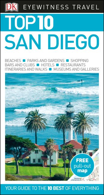 Paperback cover of Top 10 San Diego