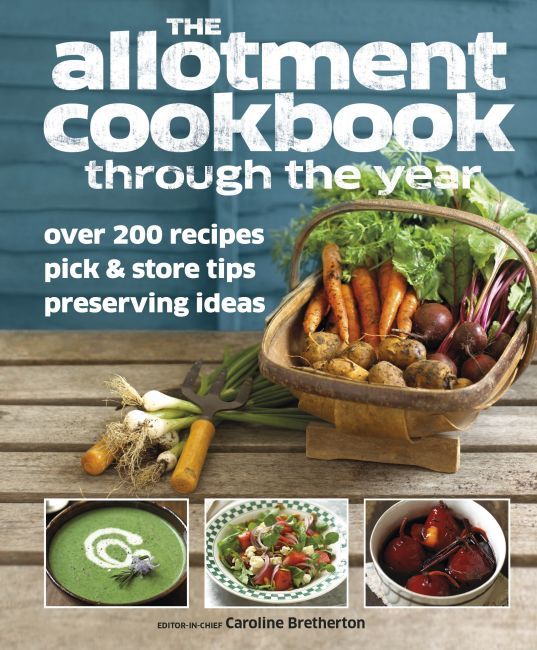 eBook cover of Allotment Cookbook Through the Year