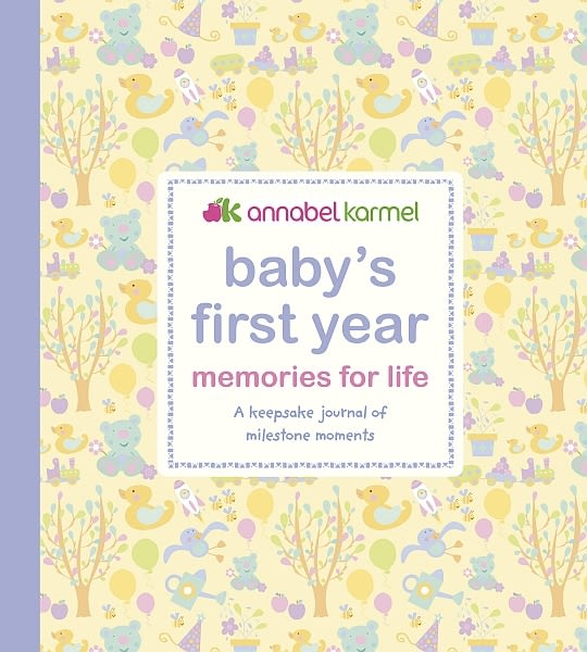 Hardback cover of Baby's First Year Memories for Life