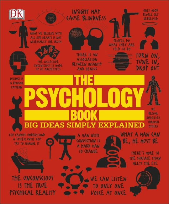 Paperback cover of The Psychology Book