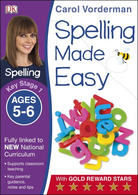 Paperback cover of Spelling Made Easy Ages 5-6 Key Stage 1