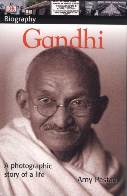 Paperback cover of DK Biography: Gandhi
