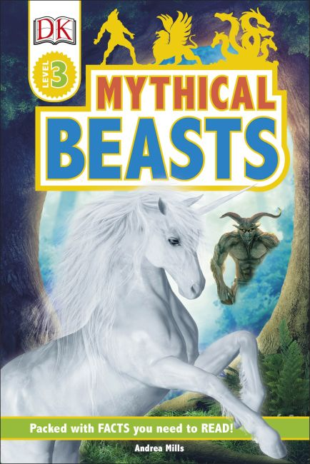 Hardback cover of Mythical Beasts