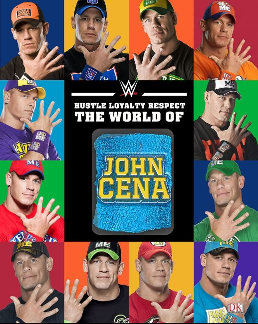 Hardback cover of Hustle, Loyalty & Respect: The World of John Cena