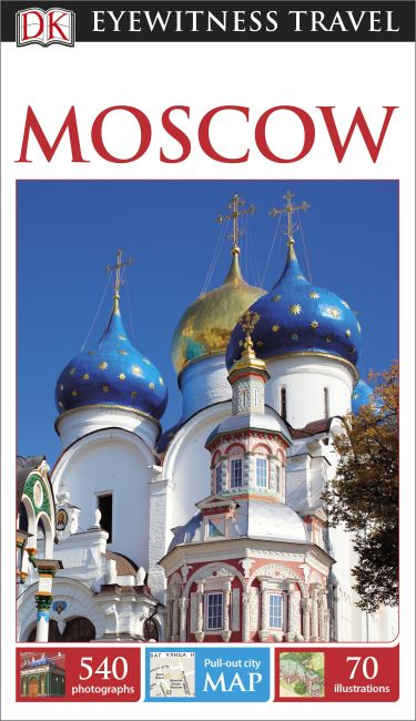 Flexibound cover of DK Eyewitness Travel Guide Moscow