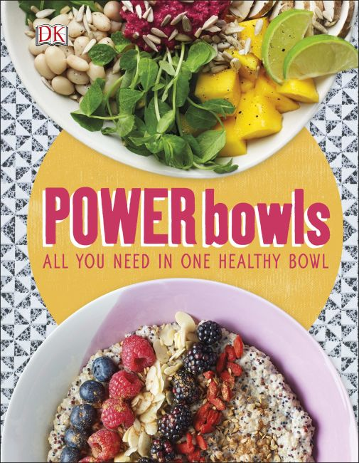 Hardback cover of Power Bowls