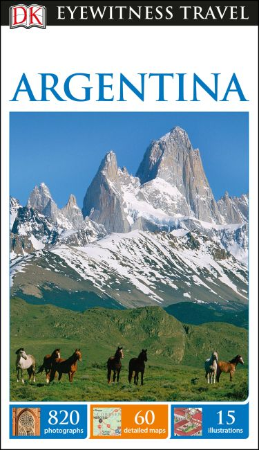 Flexibound cover of DK Eyewitness Travel Guide Argentina