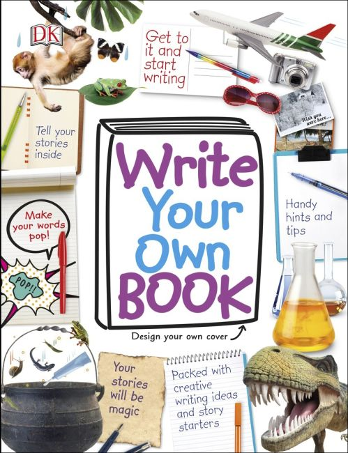 Spiral bound cover of Write Your Own Book
