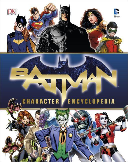 Mixed Media cover of Batman Character Encyclopedia