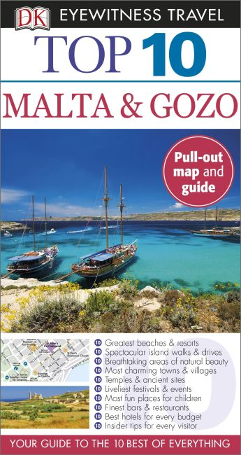 Paperback cover of Top 10 Malta and Gozo