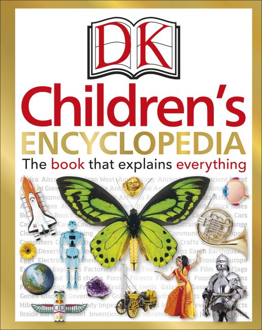 Hardback cover of DK Children's Encyclopedia