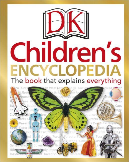 Hardback cover of DK Children's Encyclopedia