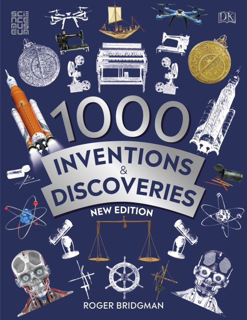 Paperback cover of 1000 Inventions and Discoveries