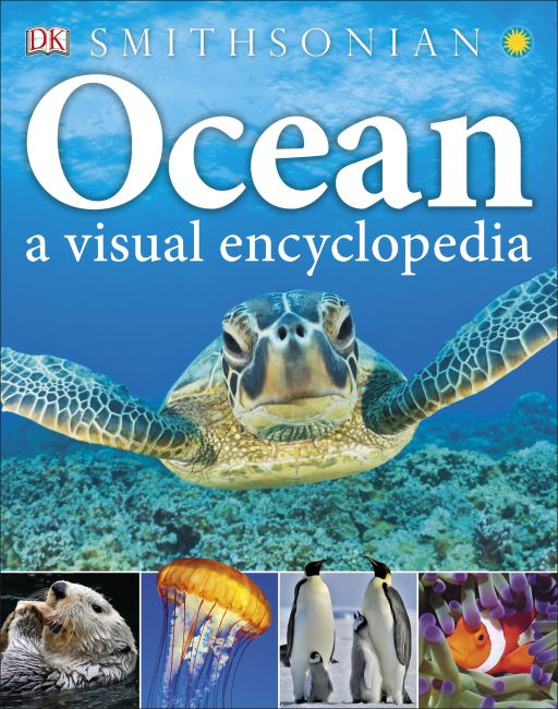 Hardback cover of Ocean: A Visual Encyclopedia