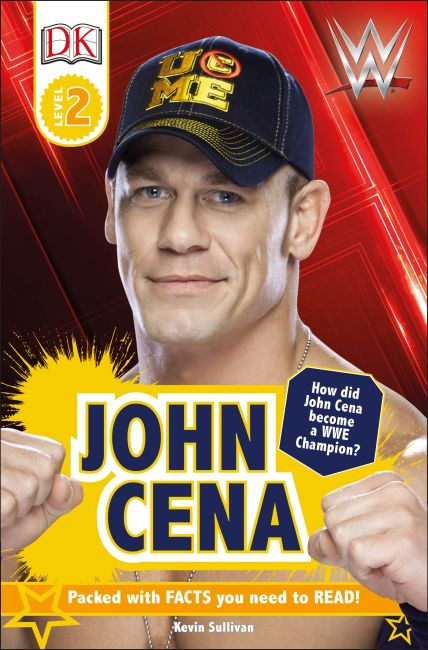 Paperback cover of DK Reader Level 2:  WWE John Cena Second Edition