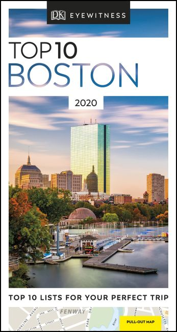 Paperback cover of DK Eyewitness Top 10 Boston