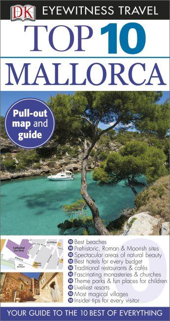 Paperback cover of DK Eyewitness Top 10 Mallorca