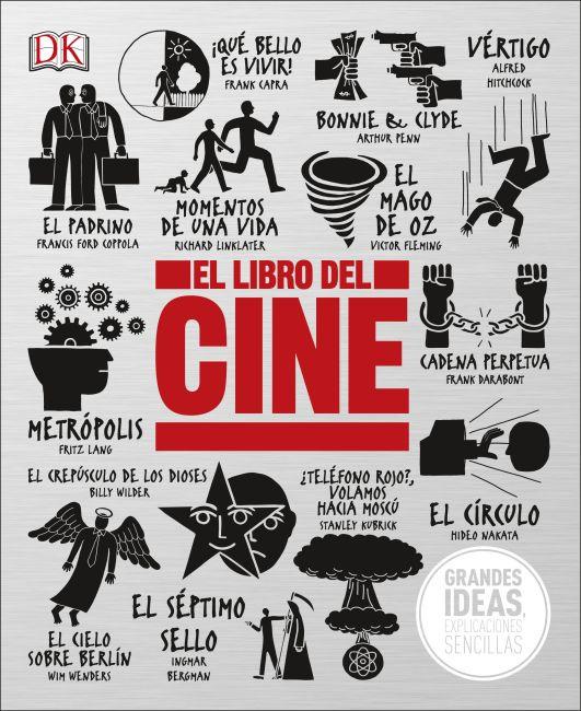 Hardback cover of El Libro del Cine