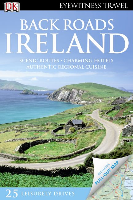 Paperback cover of Back Roads Ireland