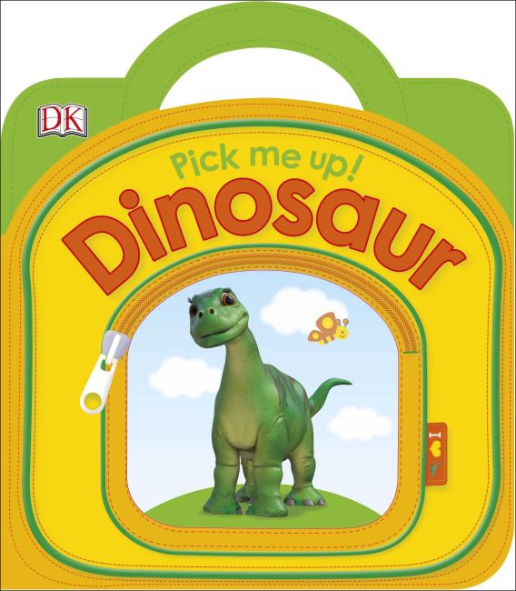 Board book cover of Pick Me Up! Dinosaur