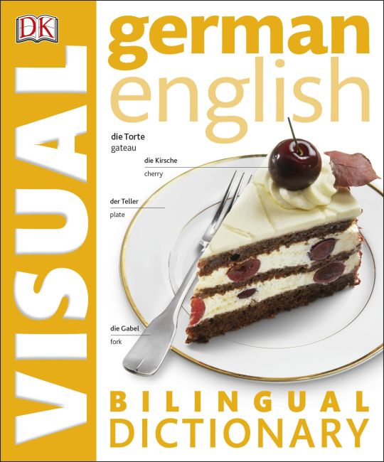 eBook cover of German English Bilingual Visual Dictionary