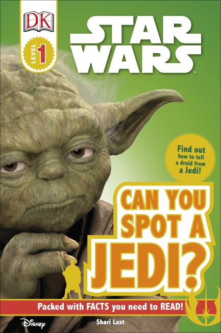 Hardback cover of DK Readers L0: Star Wars: Can You Spot a Jedi?