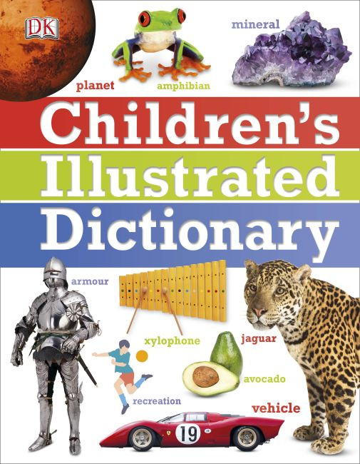Hardback cover of Children's Illustrated Dictionary