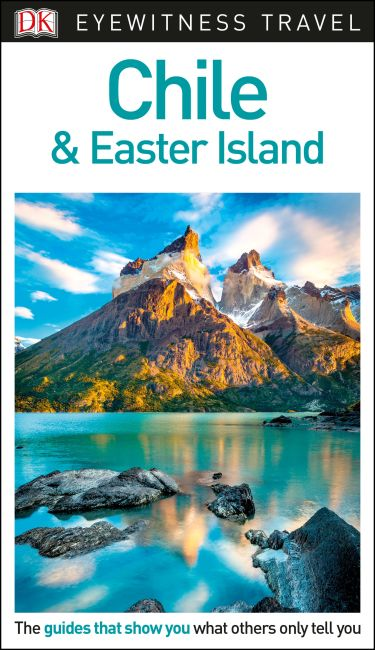 Flexibound cover of DK Eyewitness Travel Guide Chile and Easter Island