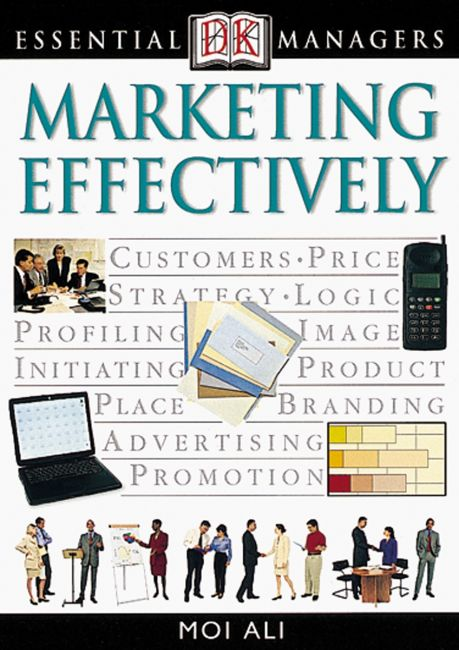 eBook cover of DK Essential Managers: Marketing Effectively