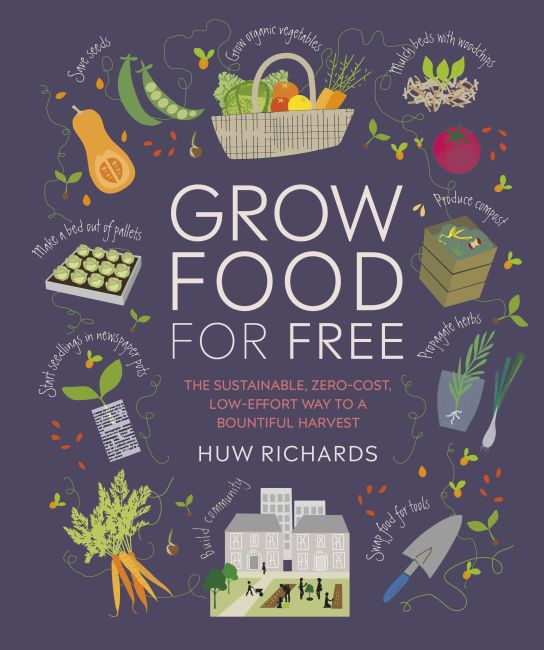 Paperback cover of Grow Food For Free