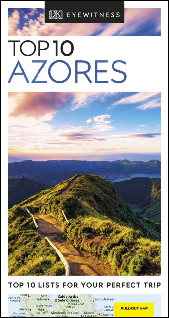 Paperback cover of DK Eyewitness Top 10 Azores