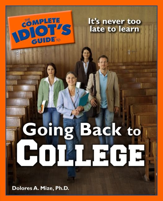eBook cover of The Complete Idiot's Guide to Going Back to College