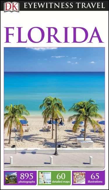 Paperback cover of DK Eyewitness Travel Guide Florida