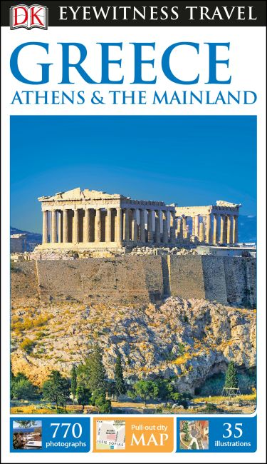 Flexibound cover of DK Eyewitness Greece, Athens and the Mainland