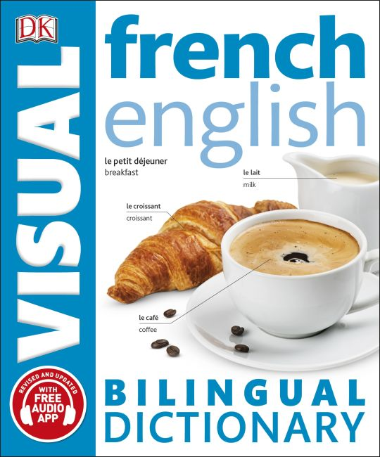 Paperback cover of French-English Bilingual Visual Dictionary