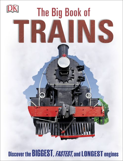 Hardback cover of The Big Book of Trains
