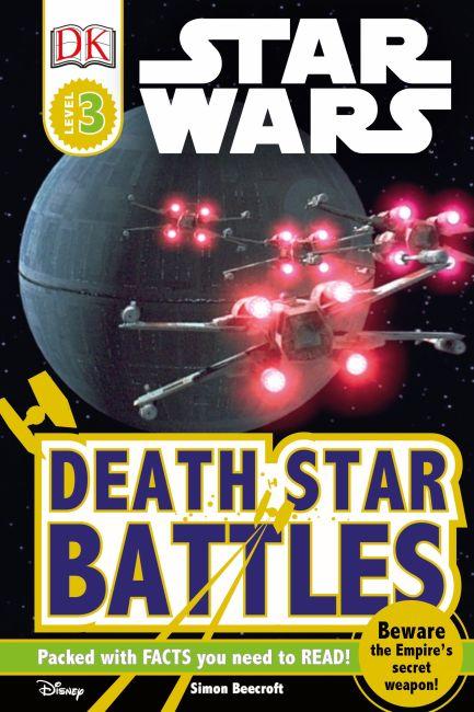 Hardback cover of DK Readers L3: Star Wars: Death Star Battles