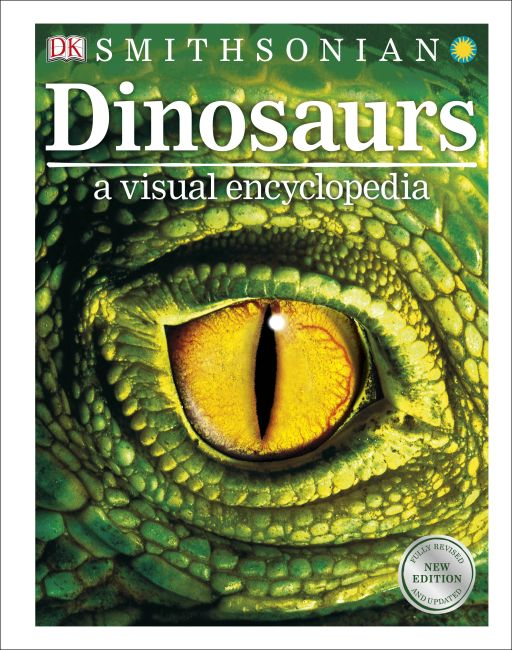 Hardback cover of Dinosaurs: A Visual Encyclopedia