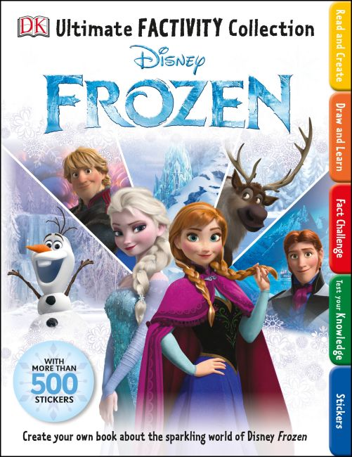 Paperback cover of Ultimate Factivity Collection: Disney Frozen