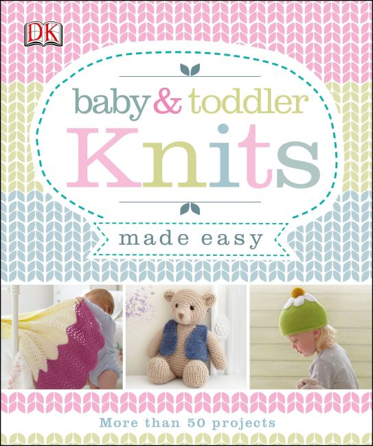 eBook cover of Baby & Toddler Knits Made Easy
