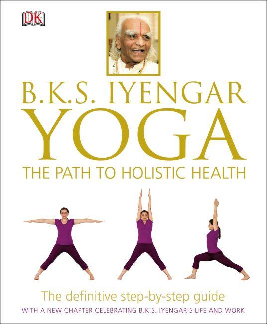 Hardback cover of B.K.S. Iyengar Yoga
