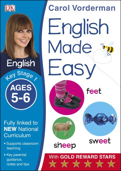 Paperback cover of English Made Easy Ages 5-6 Key Stage 1