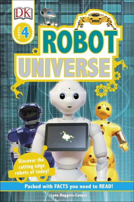 Hardback cover of DK Readers L4 Robot Universe