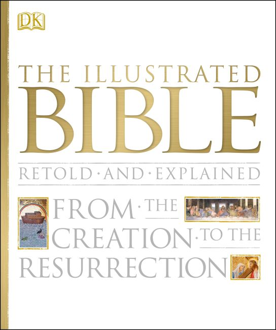 Hardback cover of The Illustrated Bible