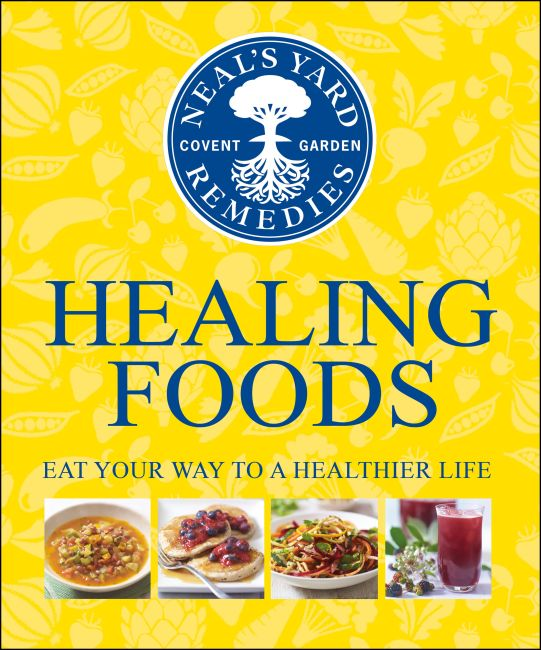 Hardback cover of Neal's Yard Remedies Healing Foods