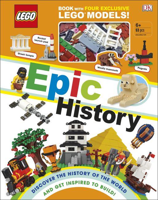 Hardback cover of LEGO Epic History