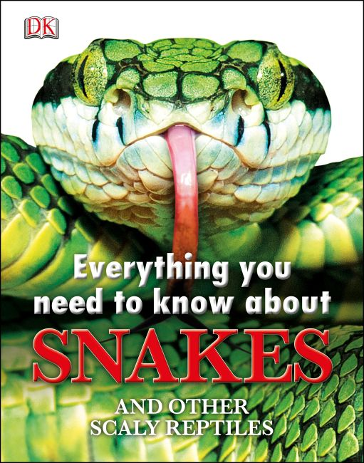 eBook cover of Everything You Need to Know About Snakes
